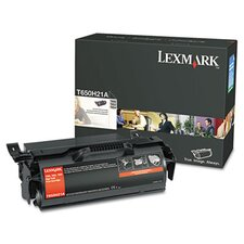 T650H21A Toner Cartridge, 25000 Page-Yield