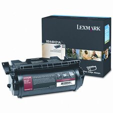 X644H21A Laser Cartridge, High-Yield, Black