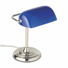 Traditional Incandescent Banker'S Table Lamp