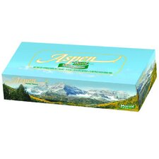 Aspen 100% Recycled Facial Tissues in White