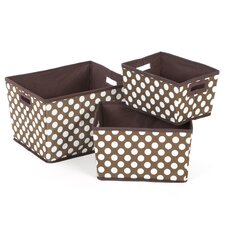 <strong>Badger Basket</strong> Nesting Trapezoid Three Basket Set