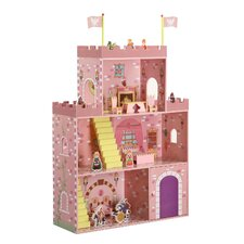 Fantasy Play Castle Dollhouse and Accessory Set