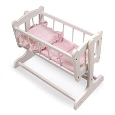 <strong>Badger Basket</strong> Heirloom Doll Cradle