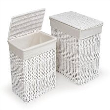 Wicker Hamper (Set of 2)