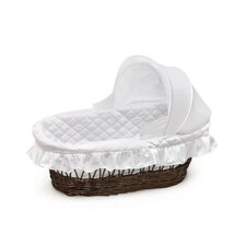 Wicker Hooded Moses Basket