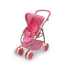 <strong>Badger Basket</strong> Six Wheel Doll Stroller