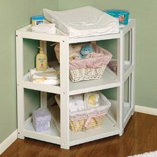 <strong>Badger Basket</strong> Diaper Corner Baby Changing Table