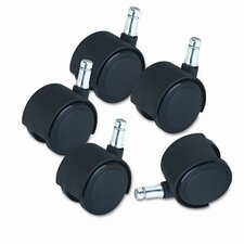 Duet Soft Wheel Casters (Set of 5)