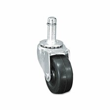 Standard Caster, 75 Lbs./Caster, Rubbers (Set of 4)