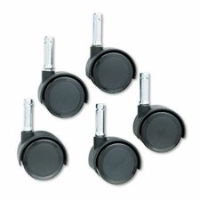 <strong>Master Caster Company</strong> Duet Twin Wheels (Set of 5)