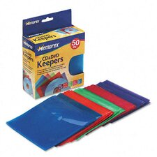CD/DVD Sleeves, 50/Pack