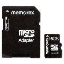 MicroSD 16Gb Travel Card
