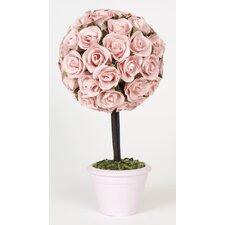 Rosebud Topiary Figurine