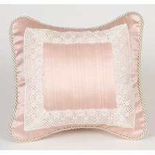 <strong>Glenna Jean</strong> Madison Pillow with Lace