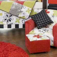 McKenzie Kid's Club Chair and Ottoman Set