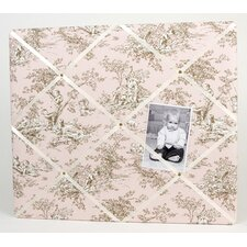 <strong>Glenna Jean</strong> Madison Toile Cotton Throw