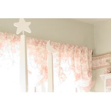 Isabella Rod Pocket Ruffled Curtain Valance