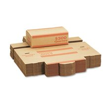 Corrugated Cardboard Coin Transport Box, 50 Boxes/Carton