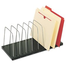 <strong>MMF Industries</strong> Steelmaster Wire Desktop Organizer, Eight Sections