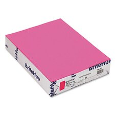 <strong>Mohawk Fine Papers</strong> Brite-Hue Color Copy/Laser/Inkjet Paper, Ultra Fuchsia, 20lb, Letter, 500 Sheets