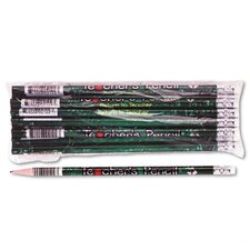 Decorated Wood Pencil, Teacher'S Pencil, 12/Pack