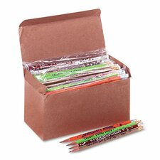 Award Woodcase Pencil, Motivational Assortment, 144/Box