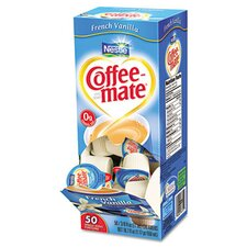 Coffee-Mate French Vanilla Creamer, 50 Creamers/Box