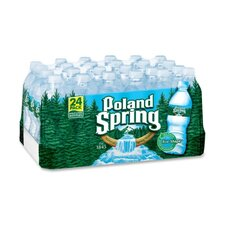 <strong>Nestle Water North America</strong> Bottles Spring Waters, .5 Liter, 24/CT