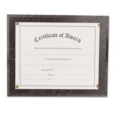 Award-A-Plaque Document Holder