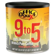 <strong>Office Snax</strong> 9-To-5 Pure Arabica Coffee