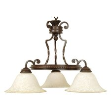 Riata 3 Light Down Chandelier