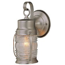 <strong>Craftmade</strong> Small Nautical Outdoor Wall Mount Lantern
