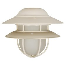 One Light Outdoor Bowl Ceiling Fan Light Kit