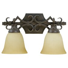 <strong>Craftmade</strong> Florence 2 Light Bath Vanity Light