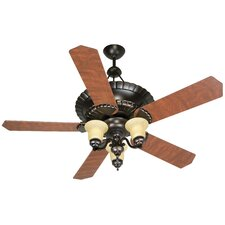 "52"" Chamberlain 5 Blade Ceiling Fan with Remote Control"