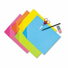 Colorwave Super Bright Tagboard, 100 Sheets/Pack