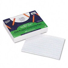 "Multi-Program Handwriting Paper, 0.5"" Long Rule, 500 Sheets/Pack"