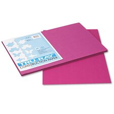 Tru-Ray Construction Paper, Sulphite, 12 x 18, Magenta, 50 Sheets