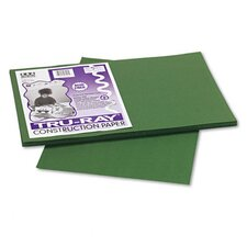 Tru-Ray Construction Paper, Sulphite, 12 x 18, Dark Green, 50 Sheets