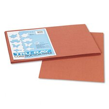 Tru-Ray Construction Paper, Sulphite, 12 x 18, Warm Brown, 50 Sheets
