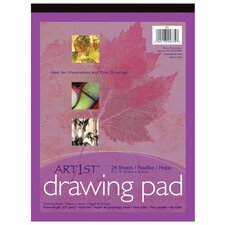 <strong>Pacon Corporation</strong> Art1st Drawing Pad 9x12 24 Sht Wht