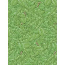 Tropical Foliage Rolled Paper 4/rls