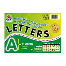 2 Self-adhesive Letters Green