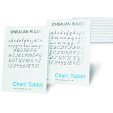 <strong>Pacon Corporation</strong> D Nealian Chart Tablet Manuscript