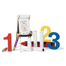 Easel Roll Super Value 18x75 Wht