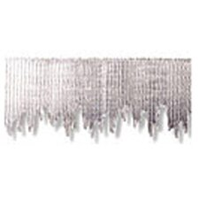 Silver Metallic Icicles Bordette