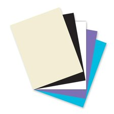 "Card Stock Paper,Classic,65 lb.,8-1/2""x11"",100/PK,Assorted"