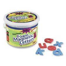 "Magnetic Alphabet Letters,Foam, Lower Case, 1-1/2"", 108 Ct."