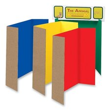 "<strong>Pacon Corporation</strong> Single Walled Presentation Board,48""x36"",24/ST,Assorted"