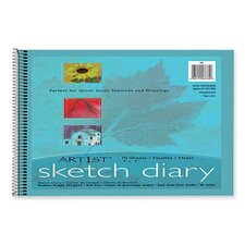 <strong>Pacon Corporation</strong> Art1St Sketch Diary, 70 Sheets/Pad